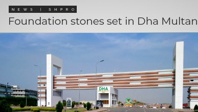 Foundation stones formally set in multiple sectors of DHA Multan