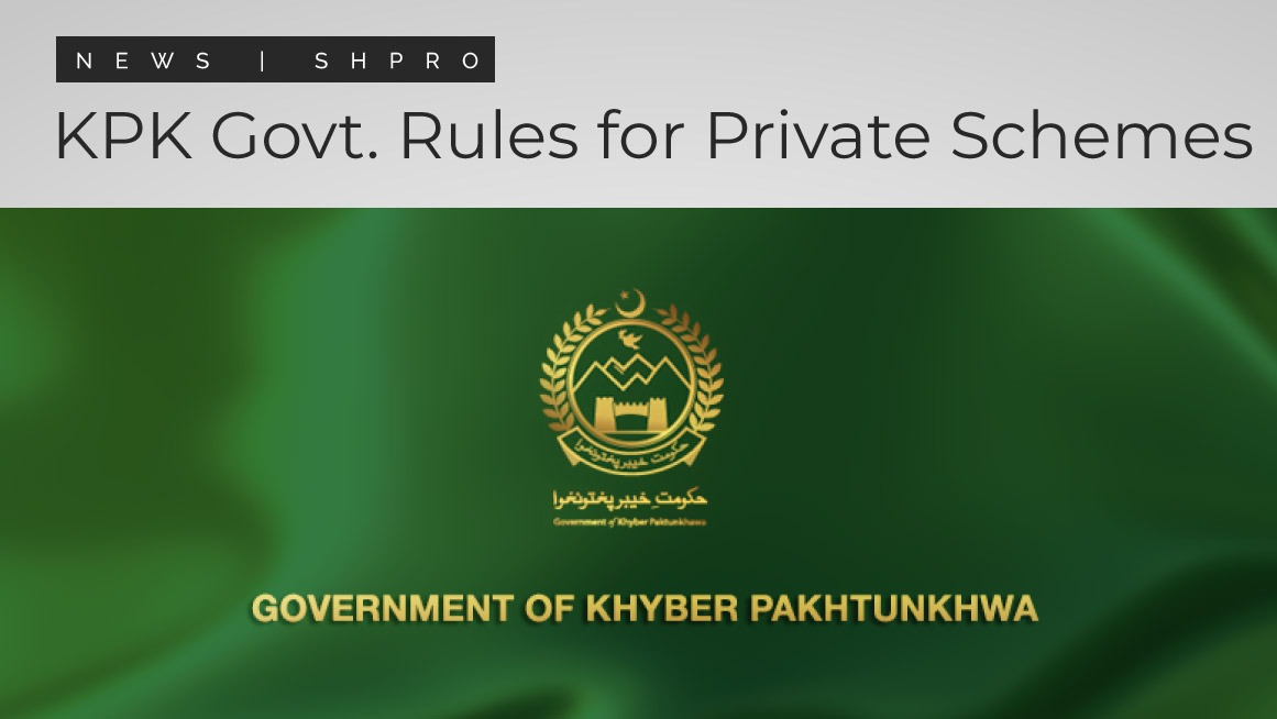 KPK government announces rules for private schemes