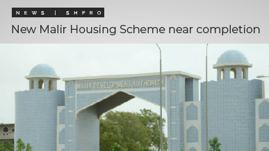 New Malir Housing Scheme approaching completion