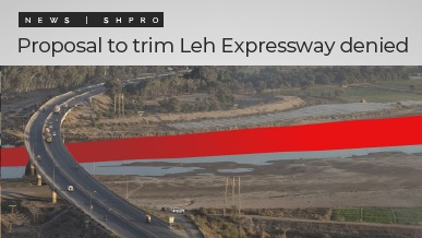 Proposal to Trim Leh Expressway Denied
