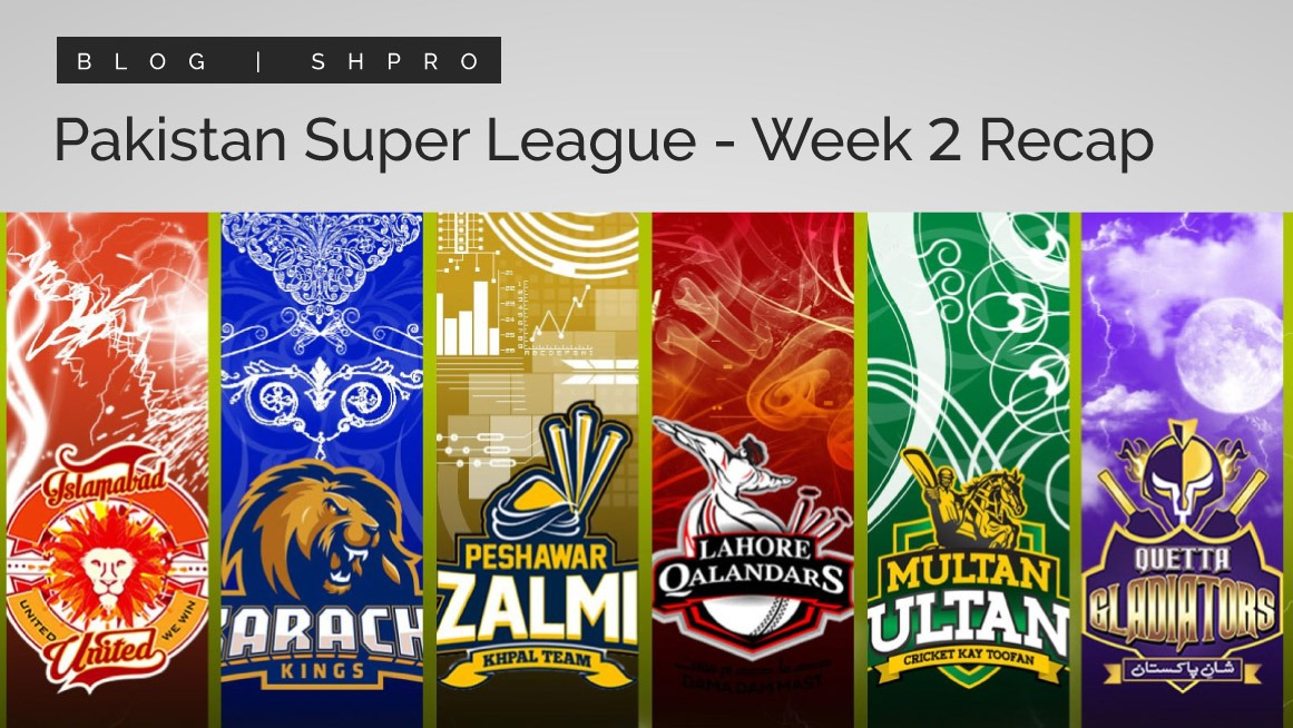 PSL 6 – Week 2 recap and update