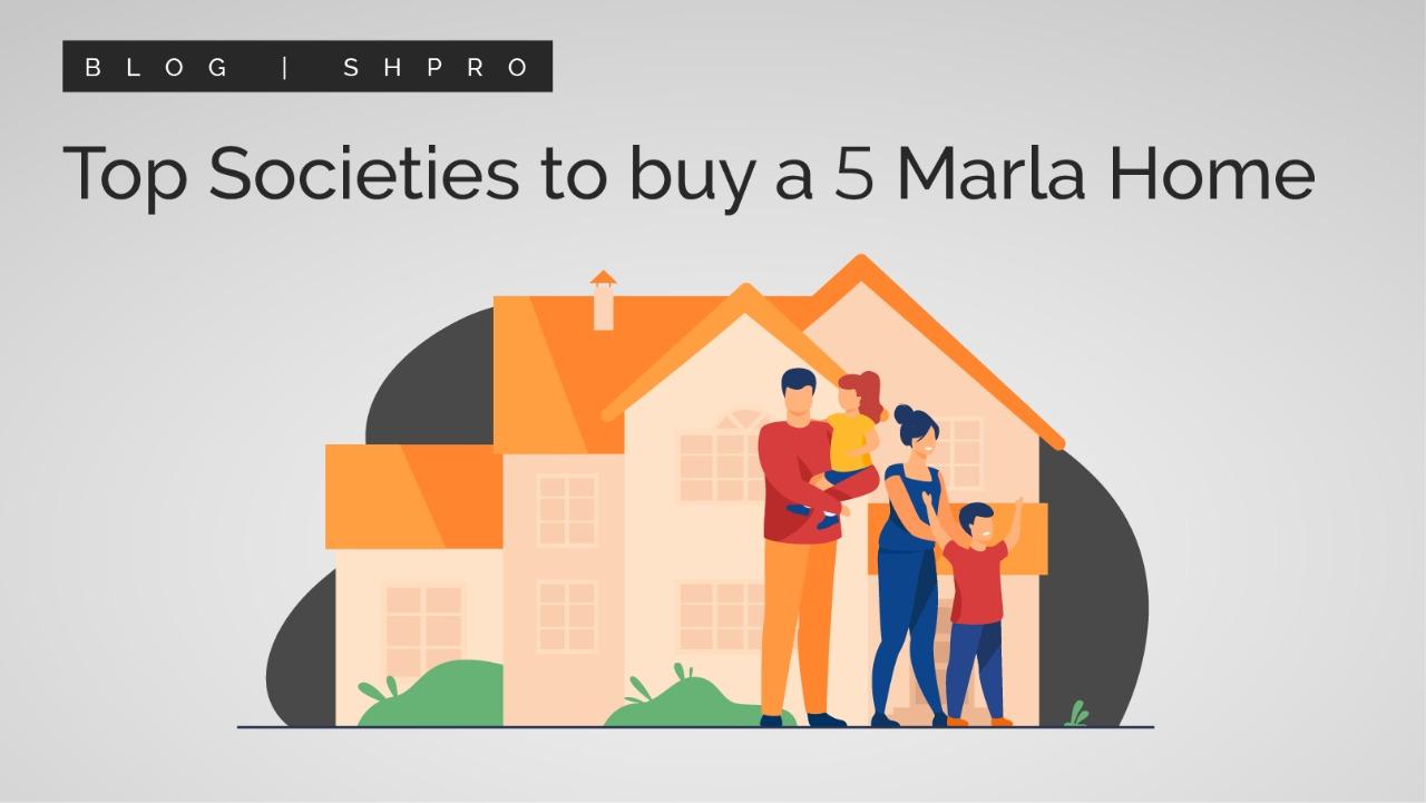 Top Cities to Buy 5 Marla Home
